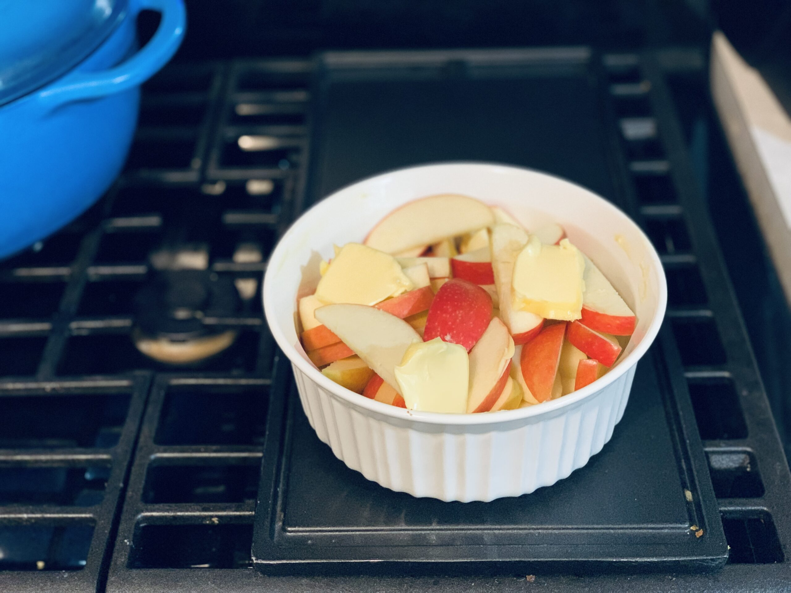 apples with butter